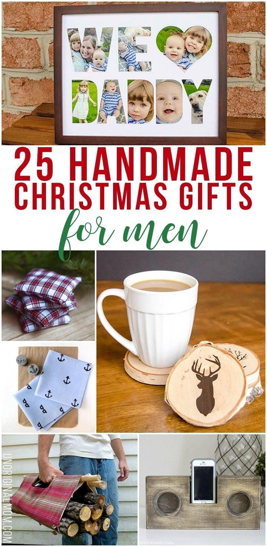 10 trendy homemade christmas gift ideas for boyfriend 25 handmade christmas gifts for men handmade christmas - Homemade Christmas Gift Ideas For Boyfriend