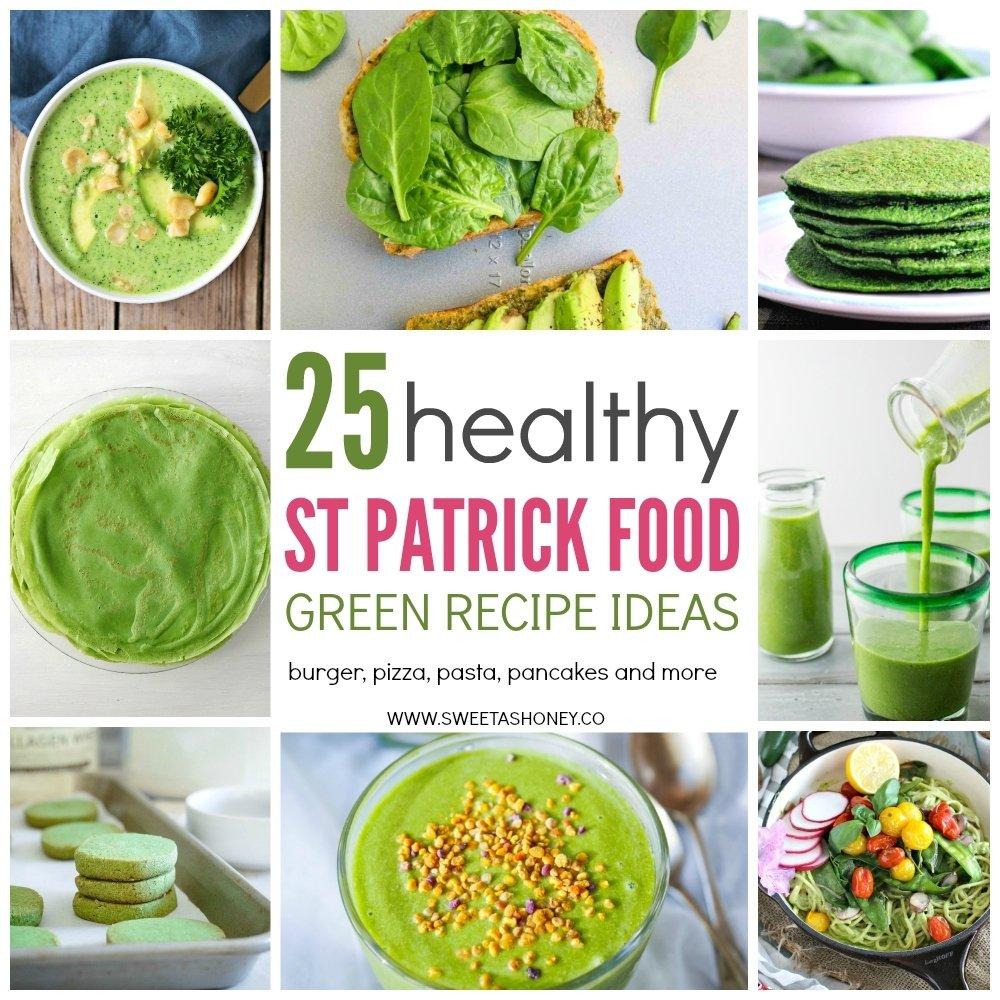 10 Stunning St Patrick Day Food Ideas 25 healthy green recipe to celebrate st patricks day sweetashoney 2 2020