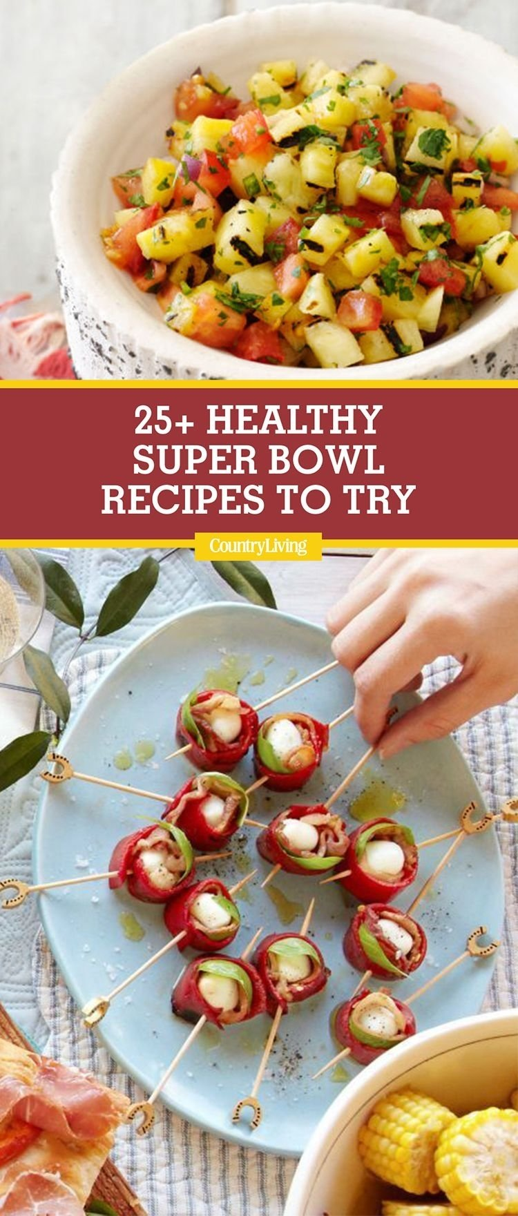 10 Perfect Healthy Super Bowl Party Food Ideas 25 healthy super bowl food ideas to try amuses bouches bouches et 2020