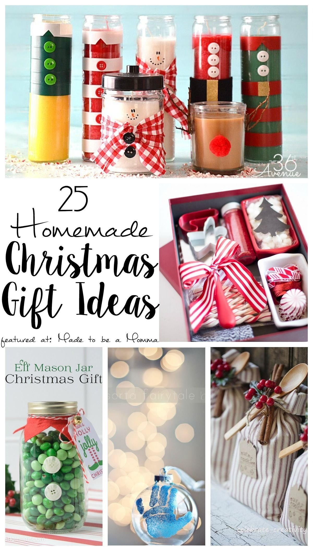 10 Attractive Pinterest Homemade Christmas Gift Ideas 25 homemade christmas gift ideas bloggers fun family projects 2021
