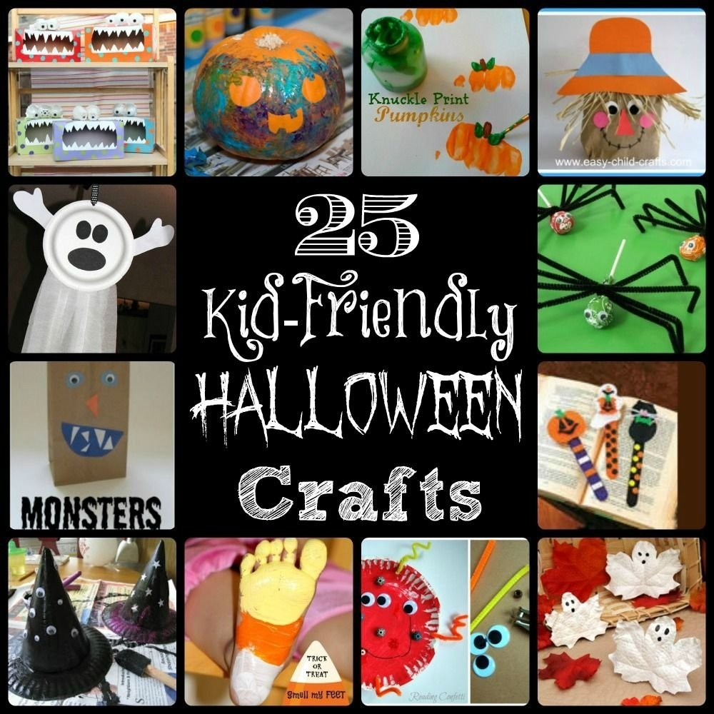 10 Wonderful Fun Halloween Ideas For Kids 25 kid friendly halloween crafts craft holidays and halloween ideas 2020