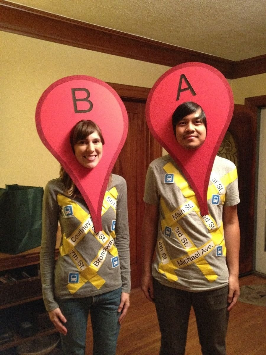 10 Unique Homemade Costume Ideas For Couples 25 last minute diy halloween costumes costumes google and 2 2020