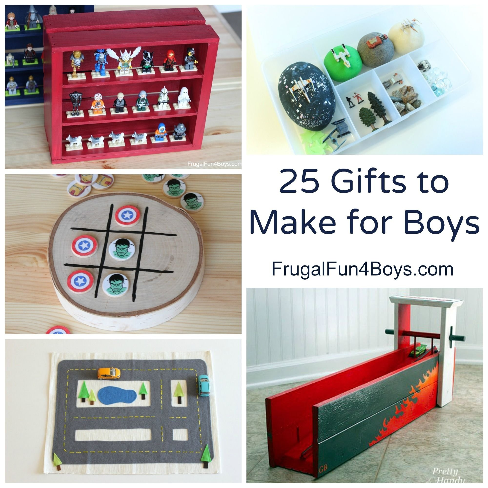 25 more homemade gifts to make for boys | homemade, gift and