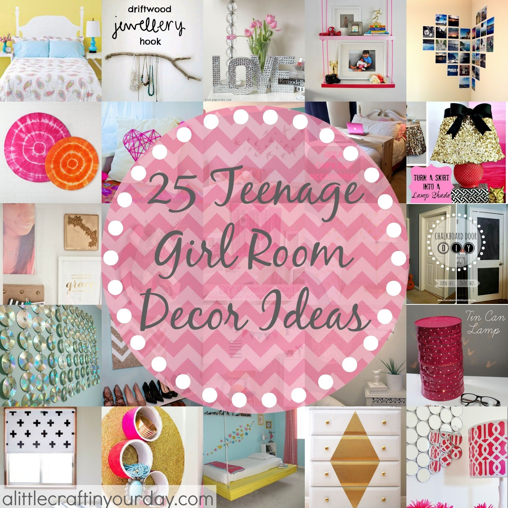 10 Pretty Craft Ideas For Teenage Girls 25 more teenage girl room decor ideas a little craft in your day 1 2020