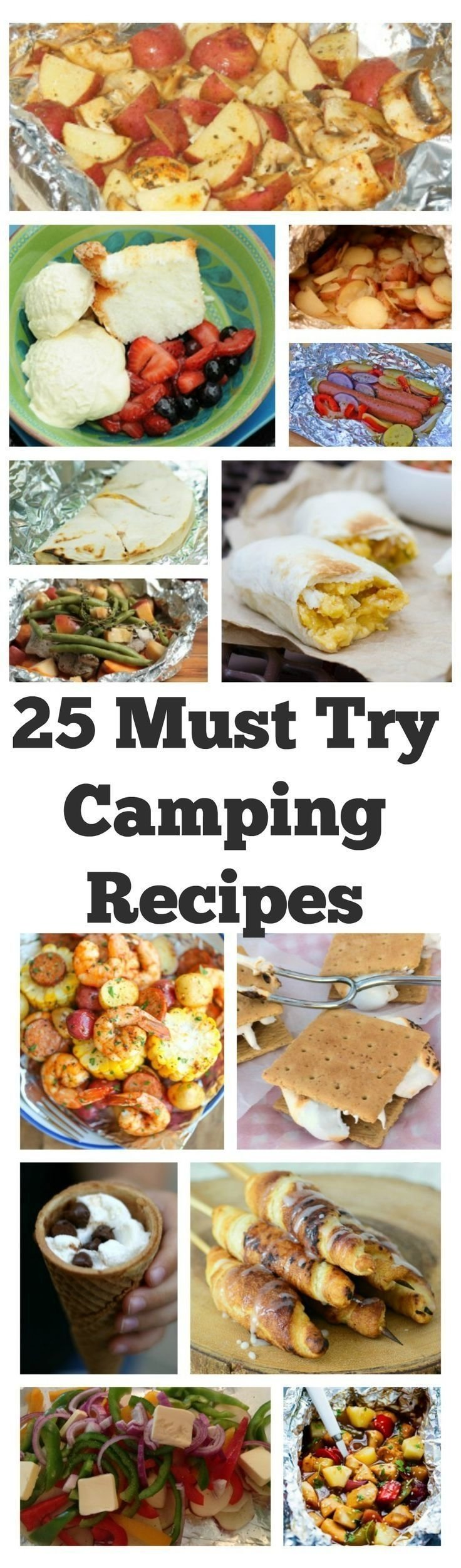 10 Most Recommended Camping Dinner Ideas For Large Groups 25 must try camping recipes if you love camping as much as we do 2021