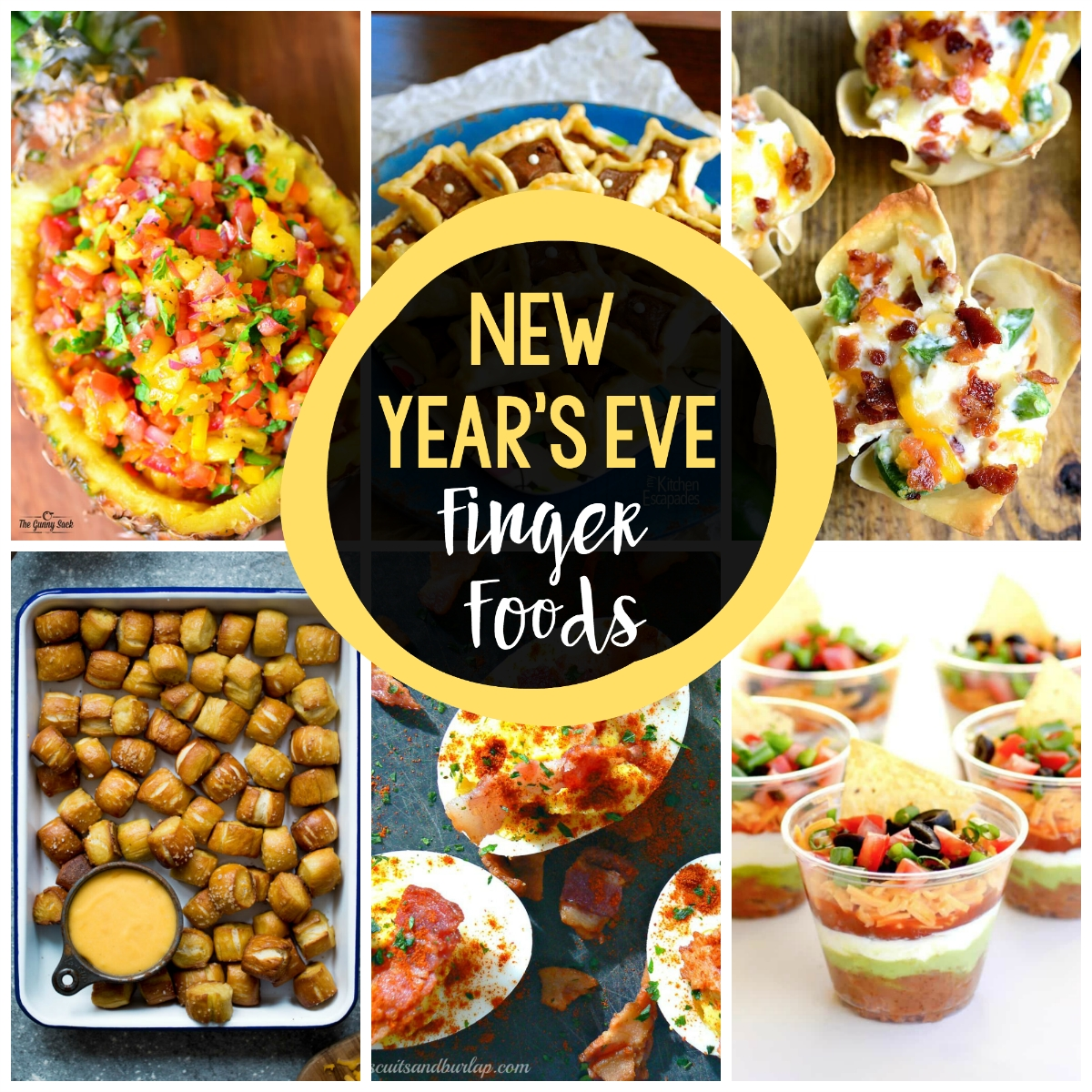 10 Gorgeous New Years Eve Dinner Ideas Menu 25 new years eve finger foods crazy little projects 1 2020