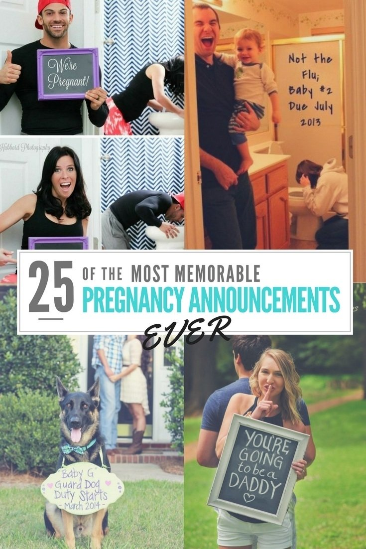 10 Fashionable Cute Ideas To Announce You Re Pregnant 25 of the most memorable pregnancy announcement ideas ever 1