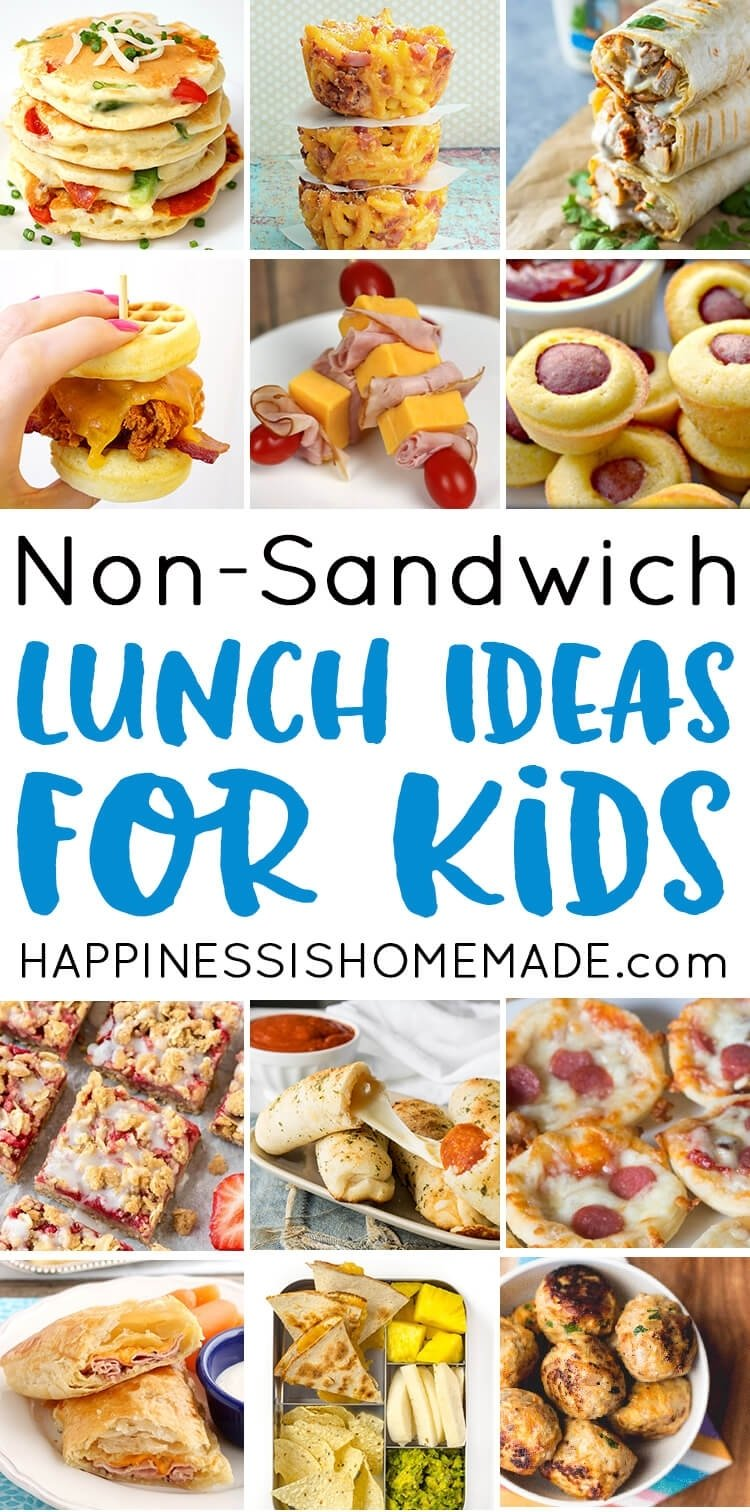 10 Great School Lunch Ideas For High Schoolers 25 school lunch ideas for kids happiness is homemade 6