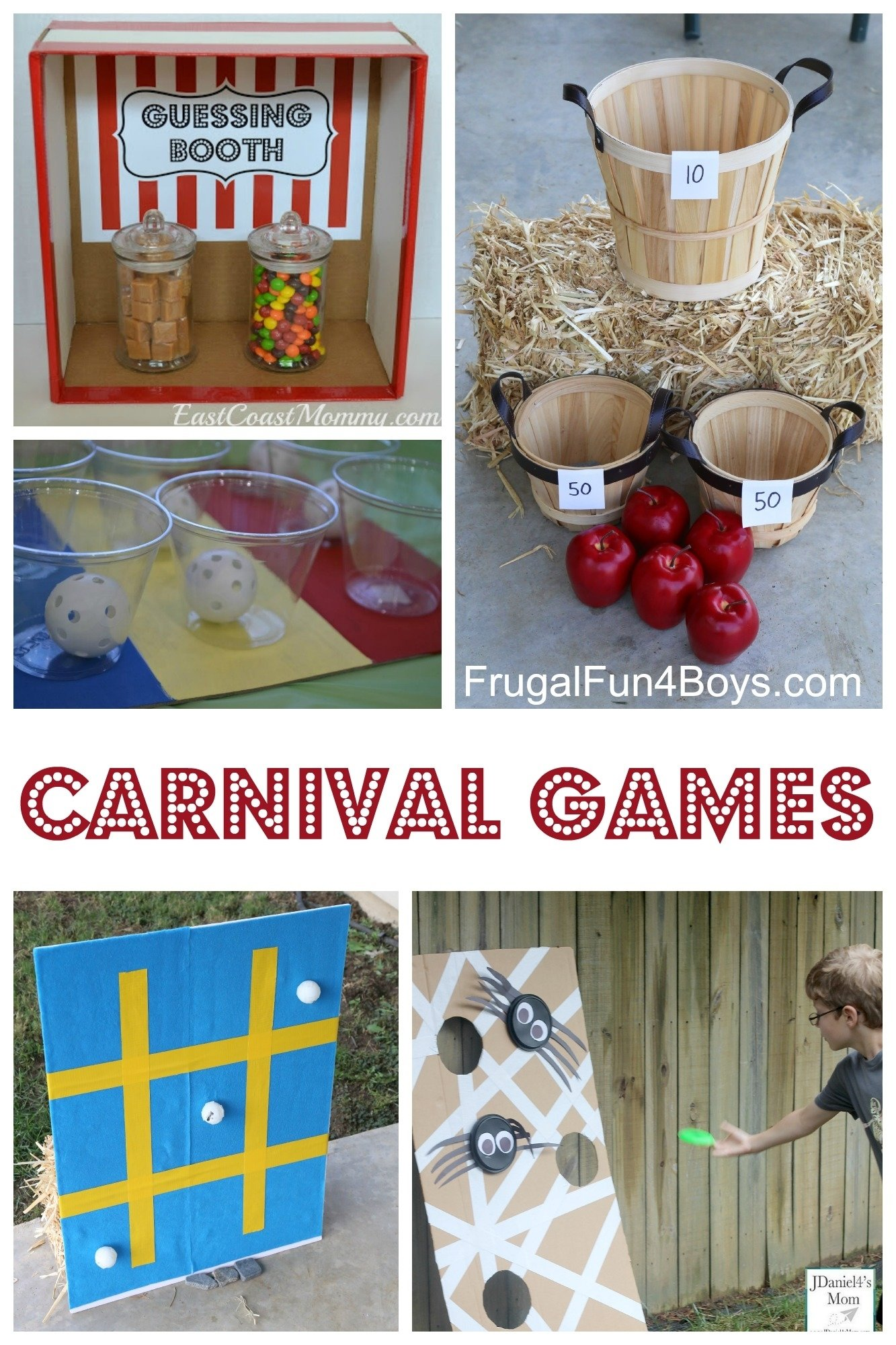 25+ simple carnival games for kids