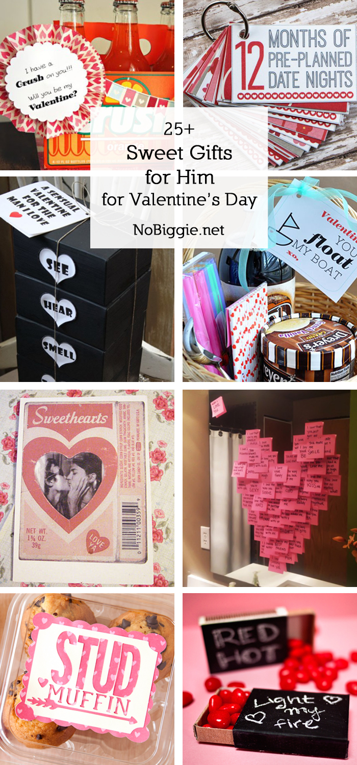 10 Wonderful Unique Ideas For Valentines Day For Him 25 sweet gifts for him for valentines day nobiggie 2020