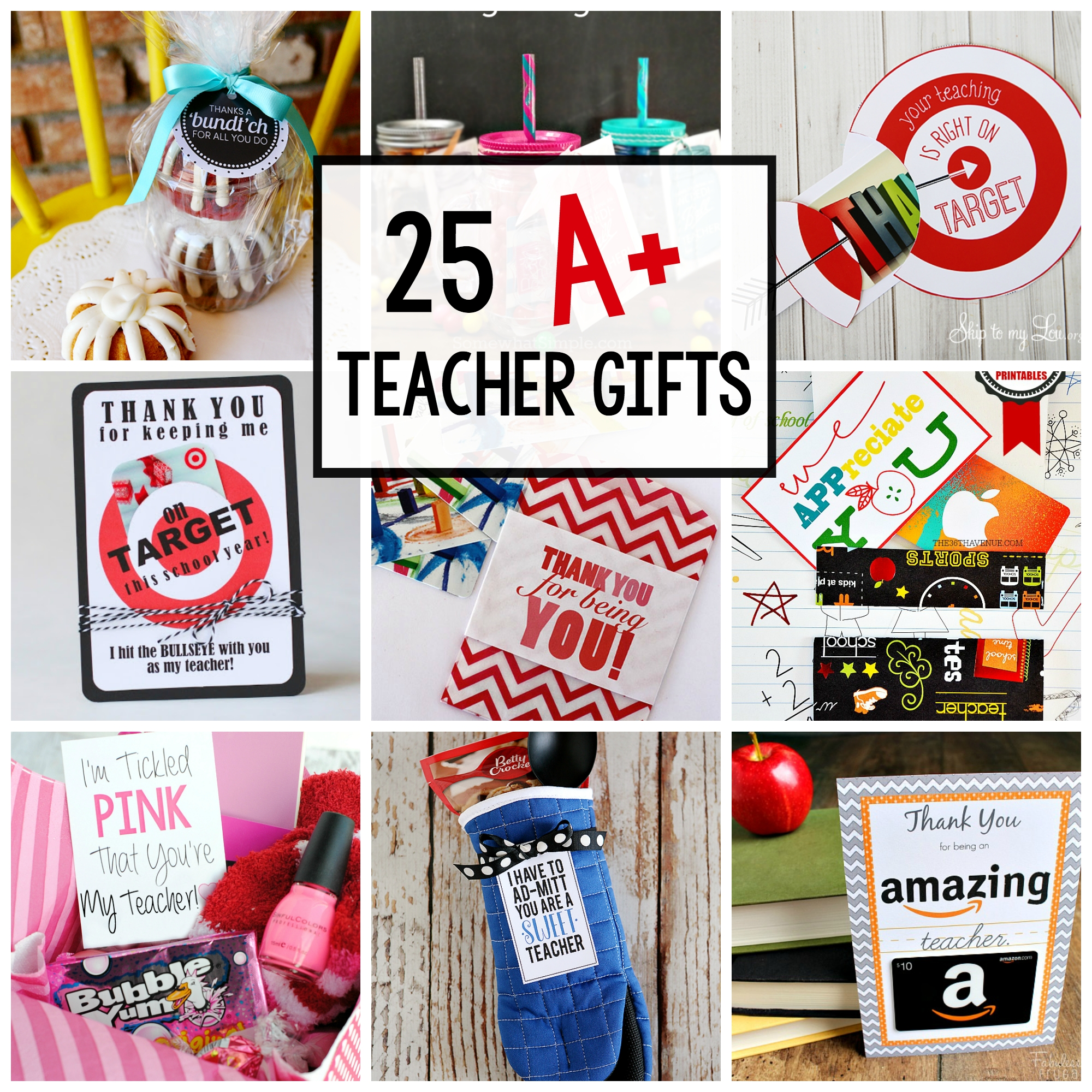 10 Cute Teachers Appreciation Week Gift Ideas 25 teacher appreciation gifts that teacher will love 4 2020