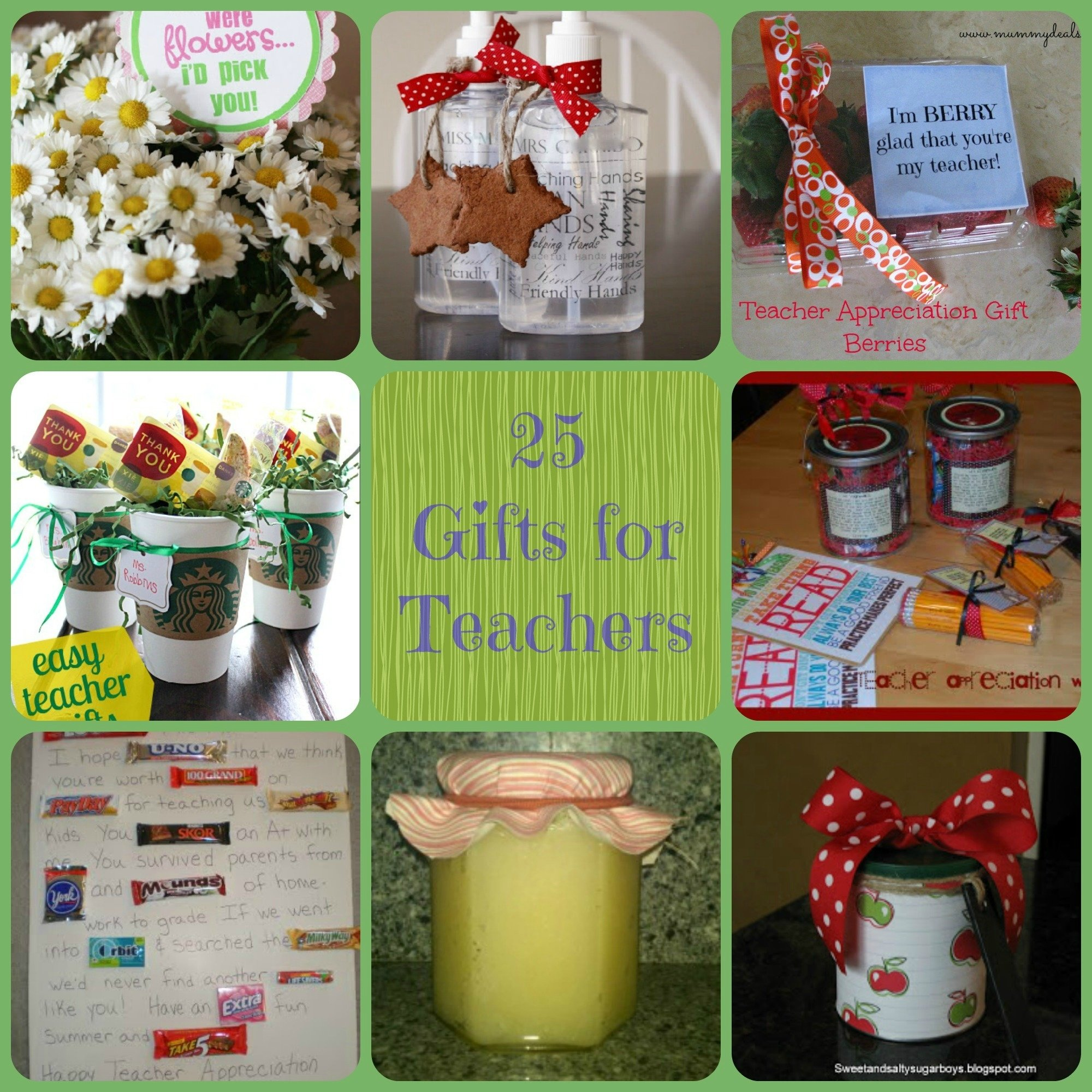 25 teacher gift ideas - farmer's wife rambles