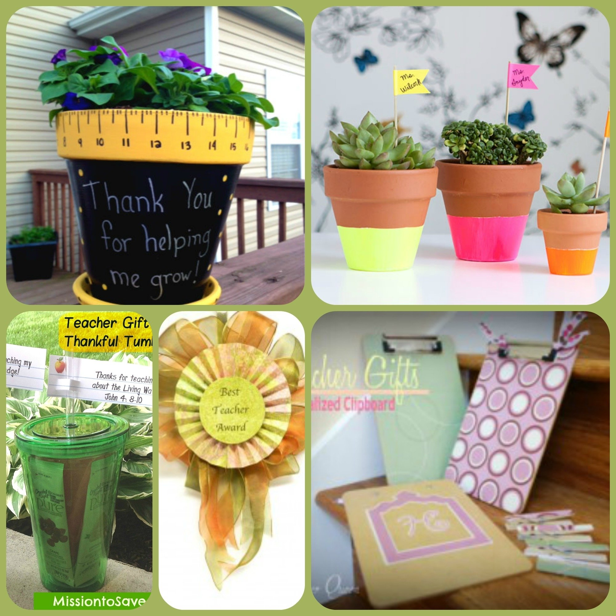 10 Spectacular Thank You Ideas For Teachers 25 teacher gift ideas farmers wife rambles 2 2020