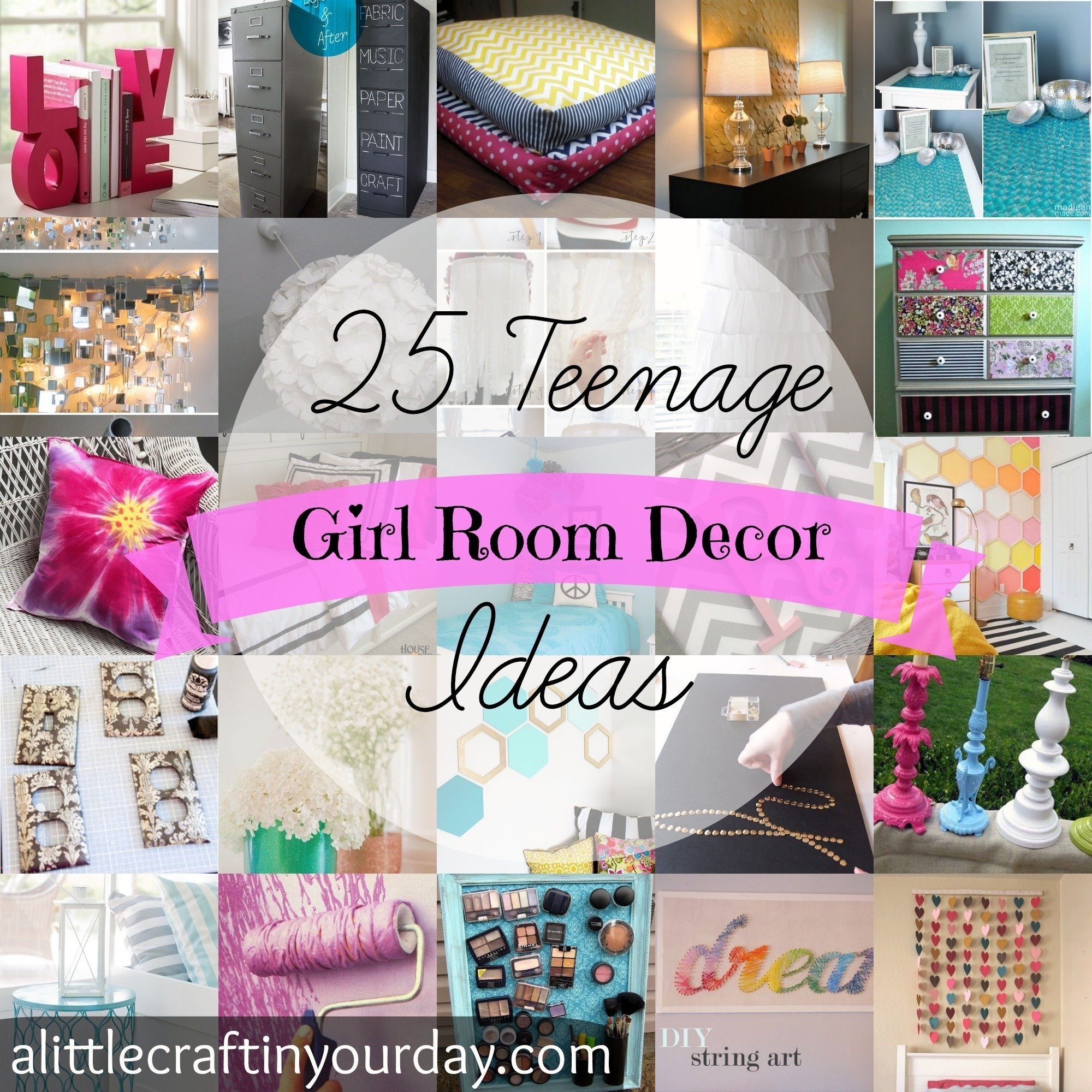 10 Most Popular Crafty Ideas For Your Room 25 teenage girl room decor ideas a little craft in your day 5 2020