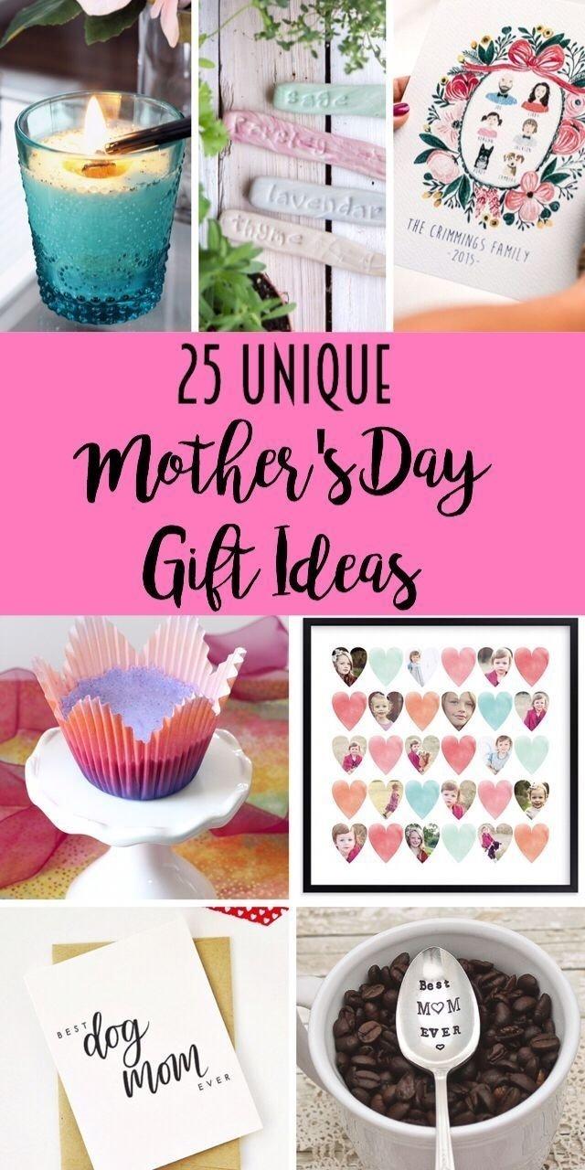 25 unique gift ideas for mom