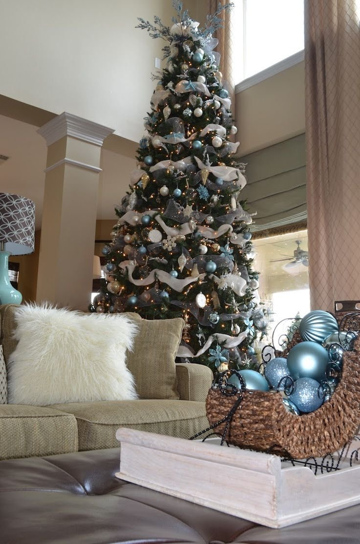 10 Perfect Modern Christmas Tree Decorating Ideas 25 white and silver christmas tree decorations ideas christmas 2020