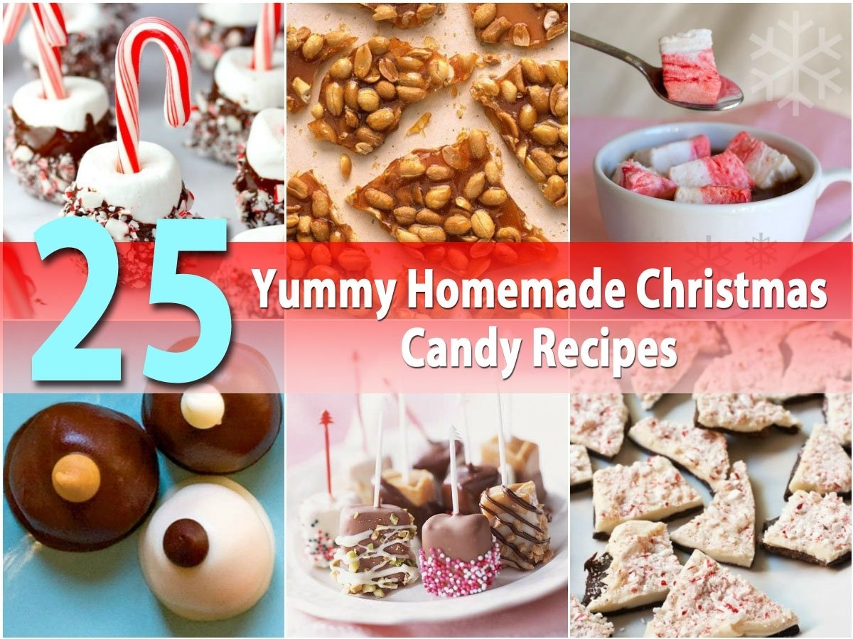10 Great Homemade Christmas Gift Ideas For Coworkers 25 yummy homemade christmas candy recipes diy crafts 2021