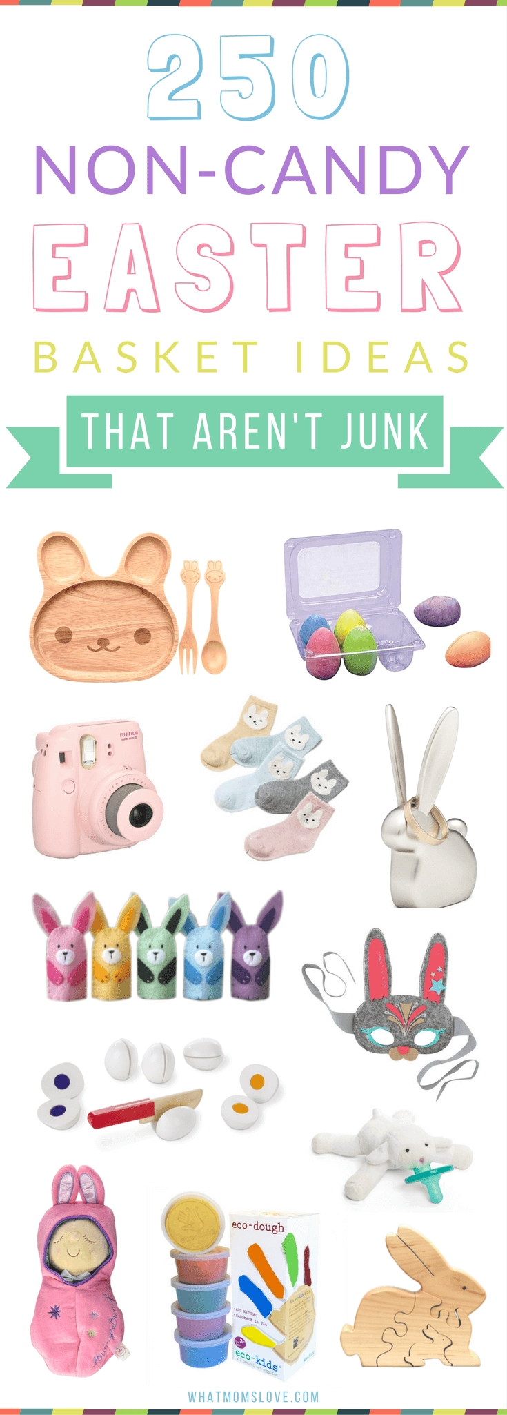 10 Cute Non Candy Easter Basket Ideas 250 non candy easter basket ideas for kids from babies to teens 2020