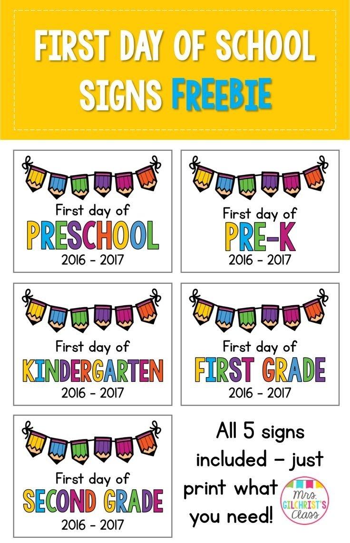 10 Fabulous First Day Of Preschool Ideas 252 best back to school preschool theme images on pinterest first