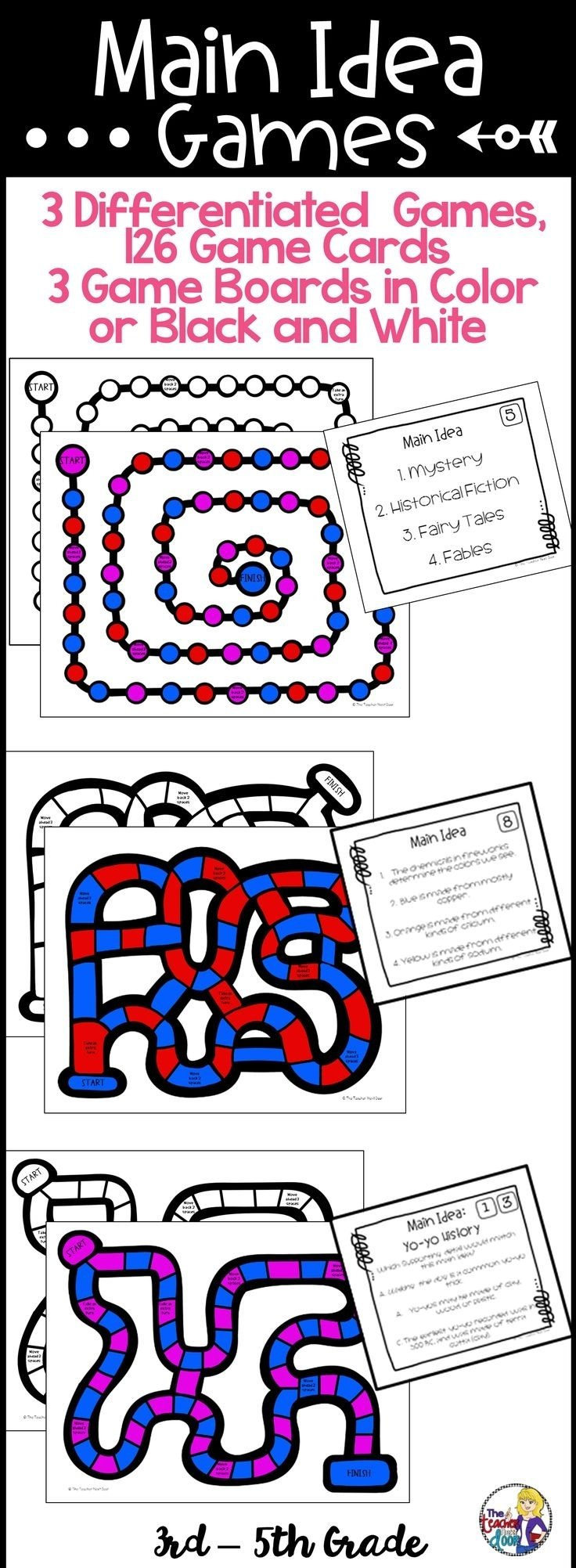 10 Stylish Main Idea Games For Kids 255 best main idea using informational text images on pinterest 1 2020
