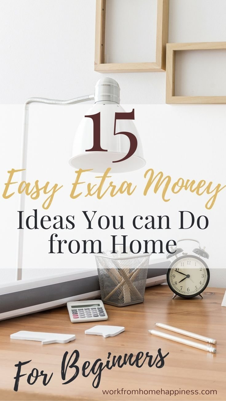 10 Attractive Ideas To Make Money From Home 2577 best work from home images on pinterest business ideas earn 2