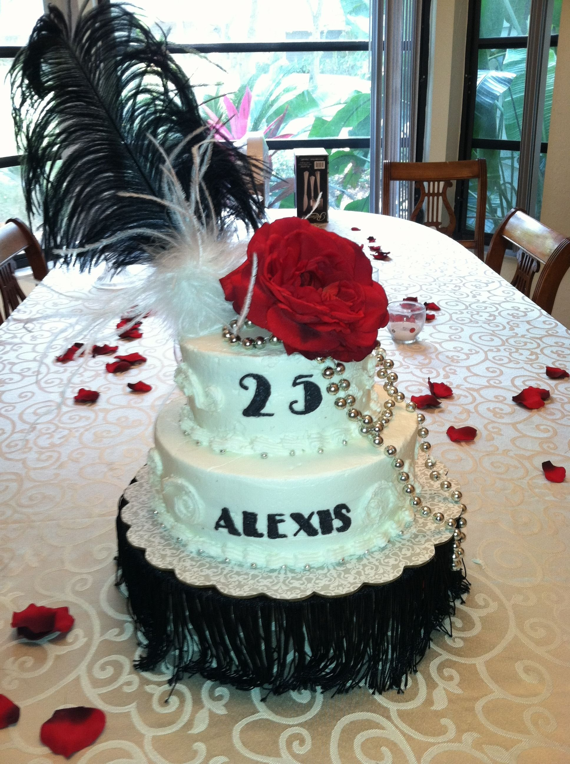 10 Cute 25 Birthday Ideas For Her 25th birthday 1925 theme cake cake pinterest 25th birthday 2020
