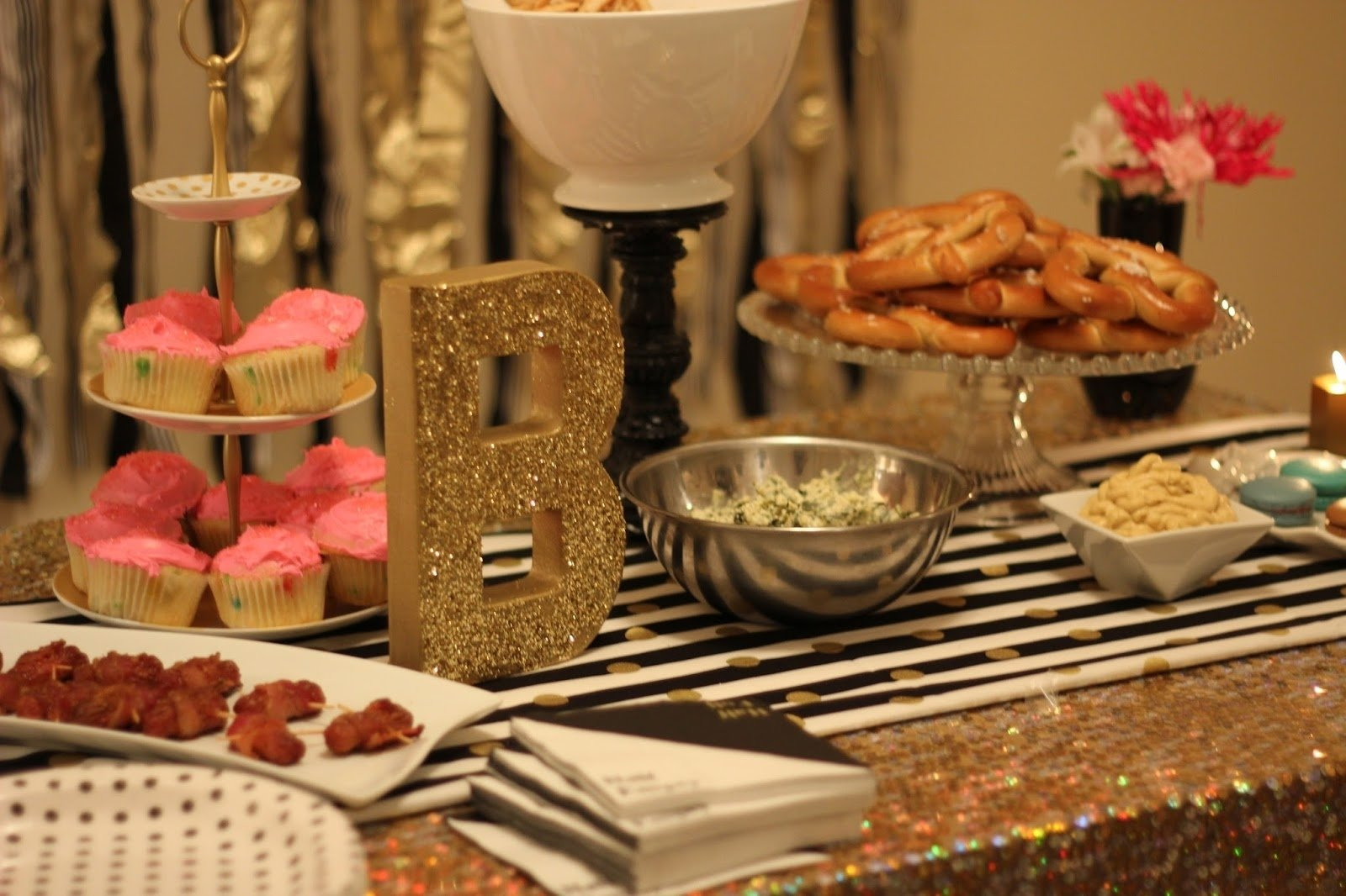 10 Spectacular Ideas For 25Th Birthday Party 25th birthday cocktail party bnb styling