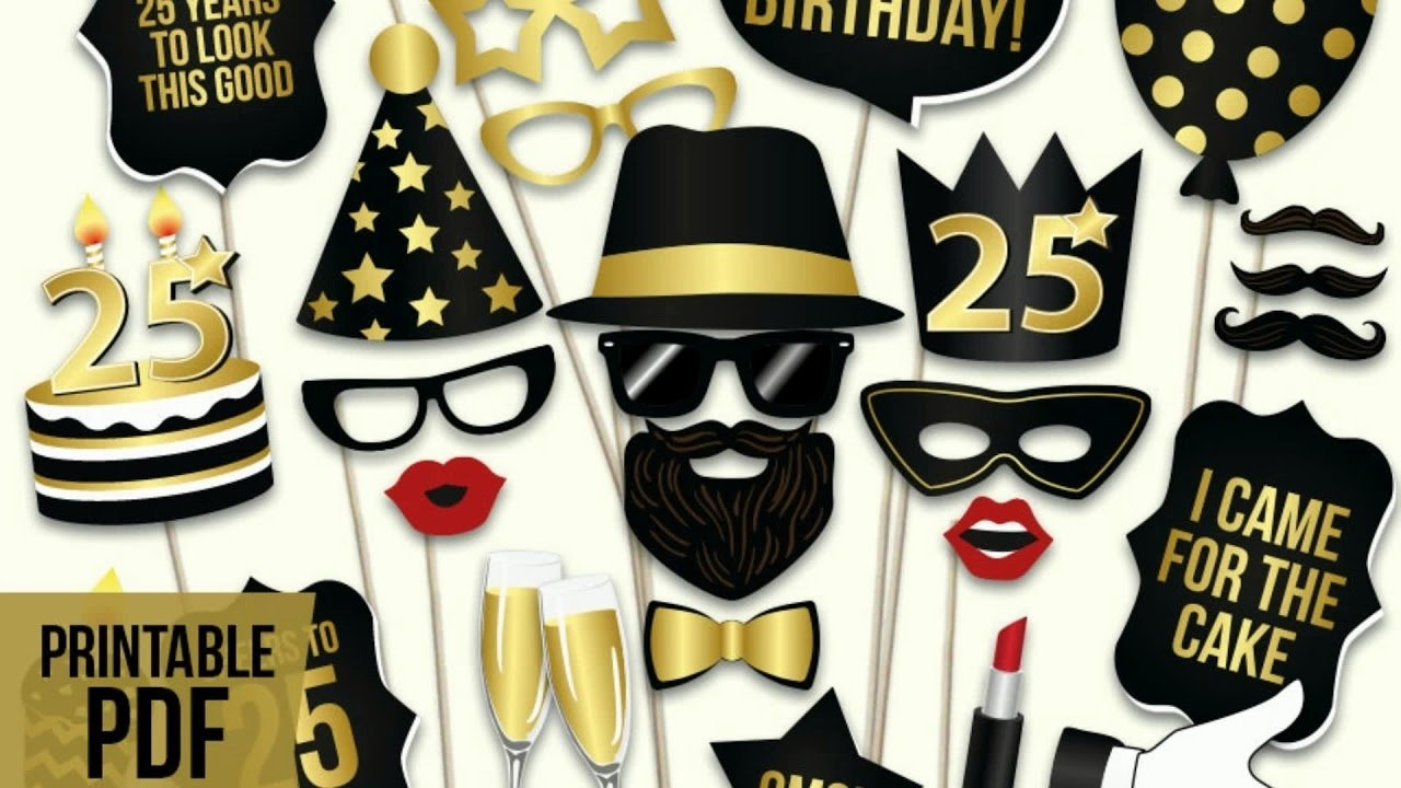 10 Stylish 25Th Birthday Party Ideas For Him 25th birthday party theme ideas him youtube 1 2021