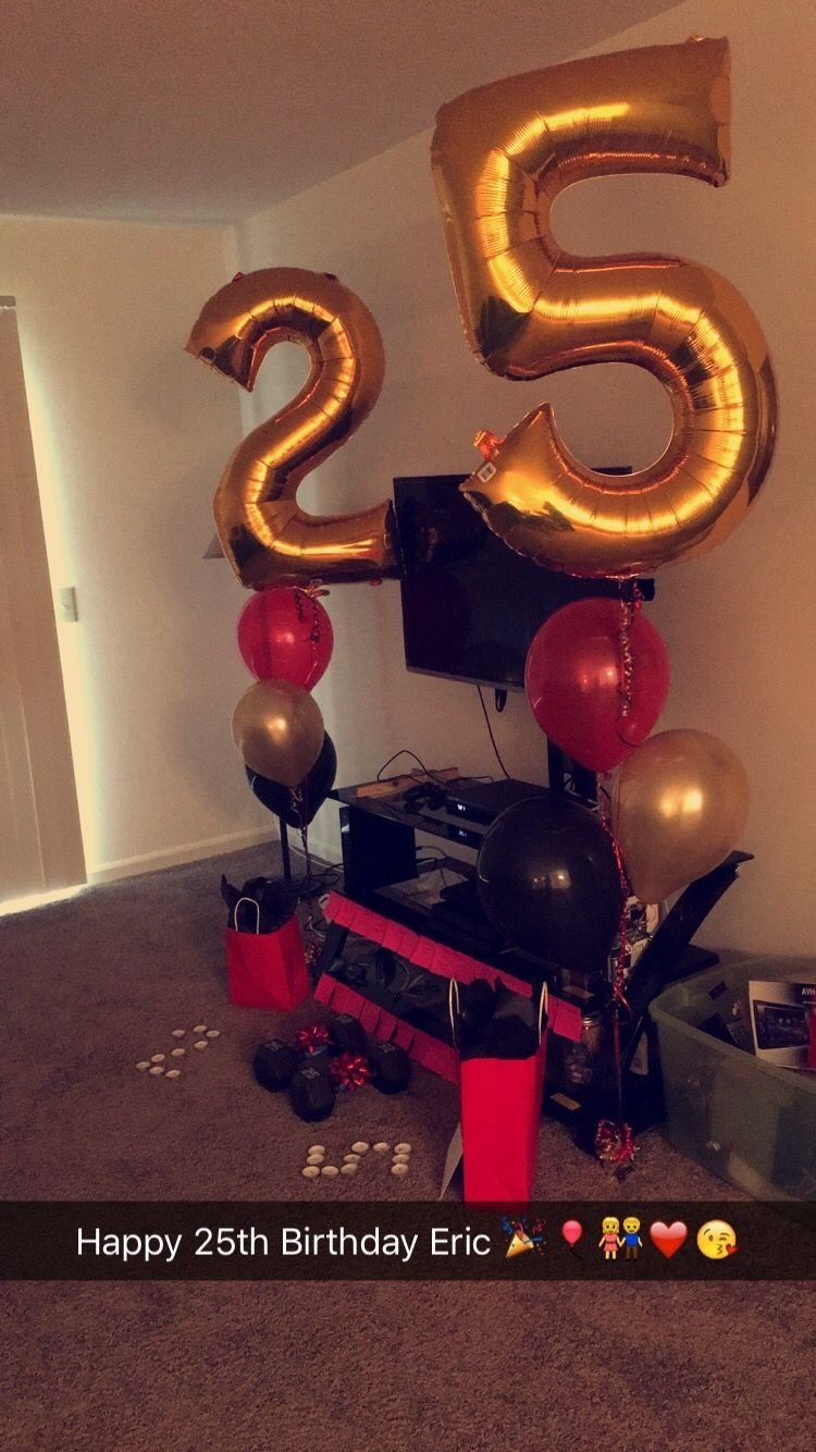 25th birthday surprise for him | gifts | pinterest | 25th birthday