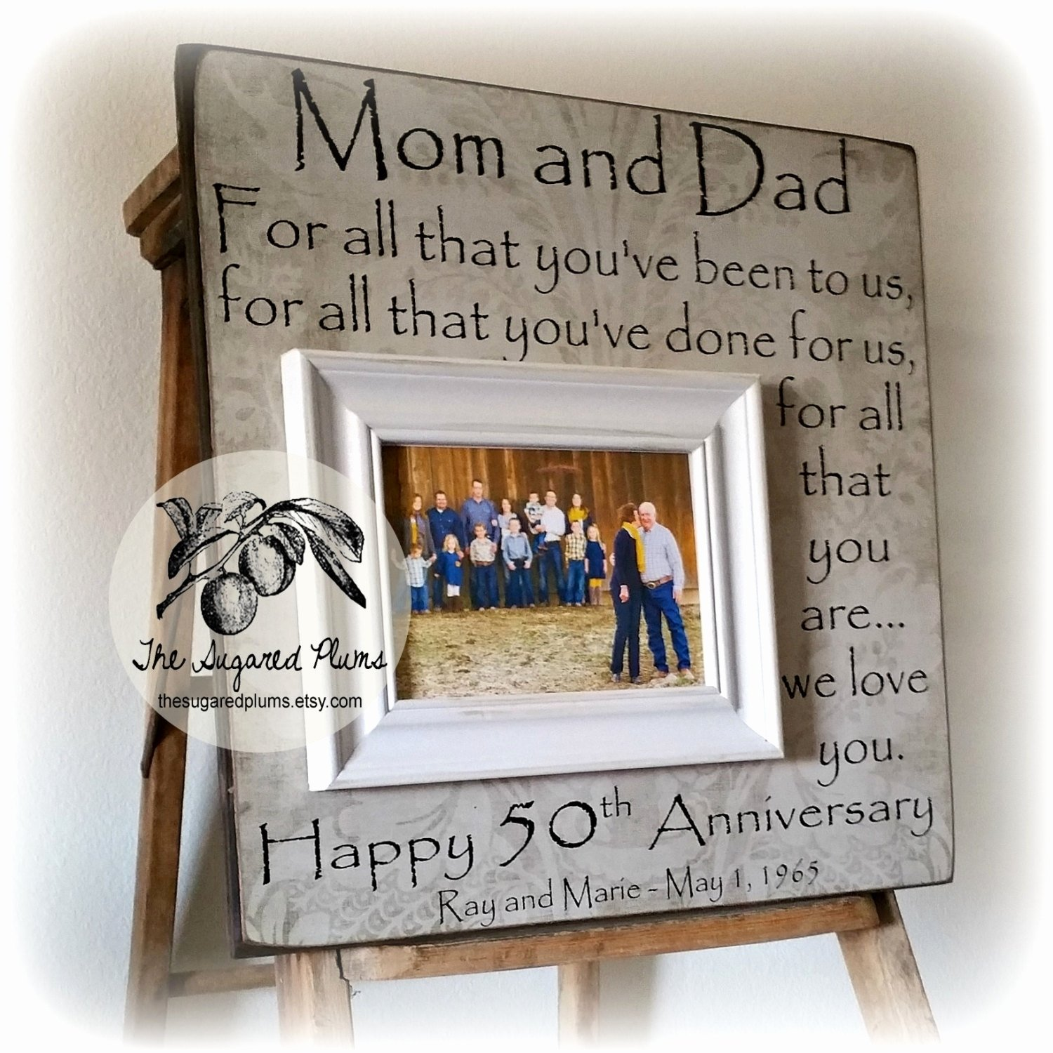 10 Fabulous Wedding Anniversary Gift Ideas For Parents 25th wedding anniversary gift ideas for couples new 50th anniversary 5