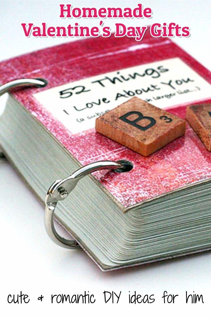 10 Ideal Valentine Gift Ideas For Boyfriend 26 homemade valentine gift ideas for him diy gifts he will love 30 2020