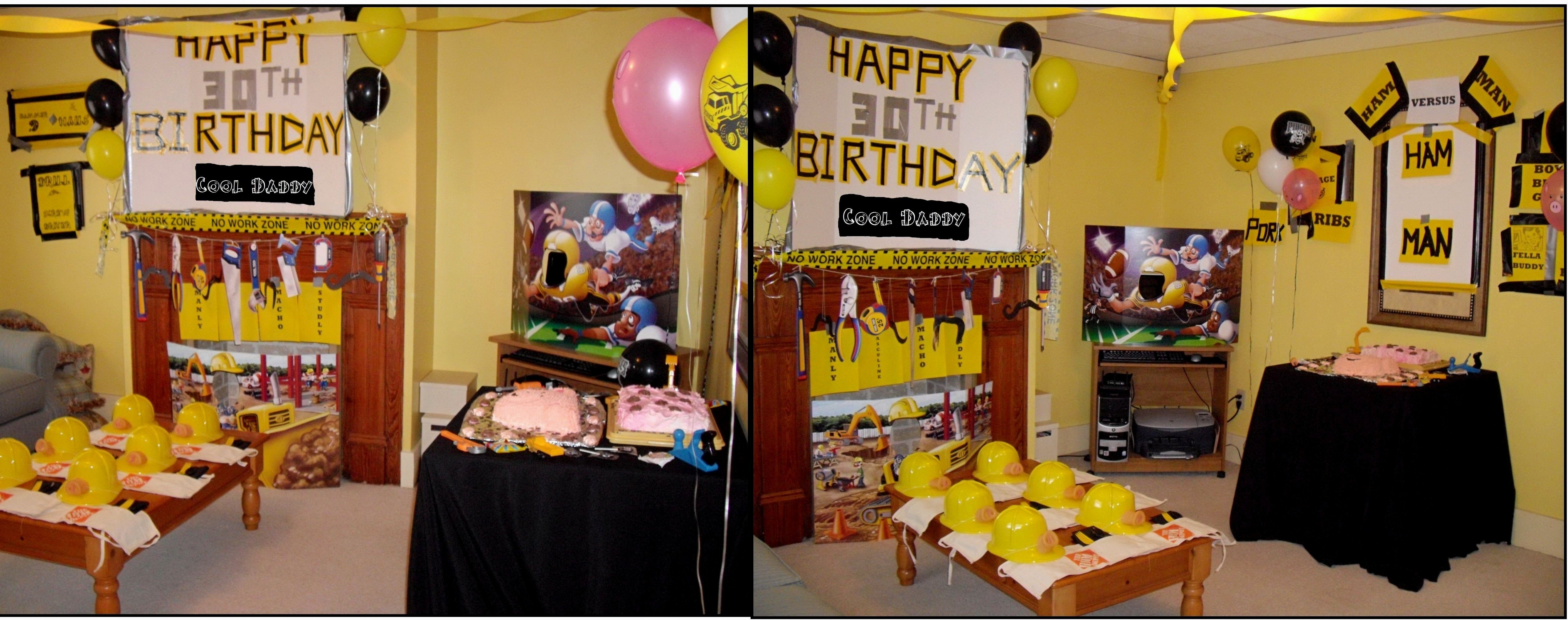 10 Famous Male 30Th Birthday Party Ideas 26 Stunning Decor Pertaining To 30th