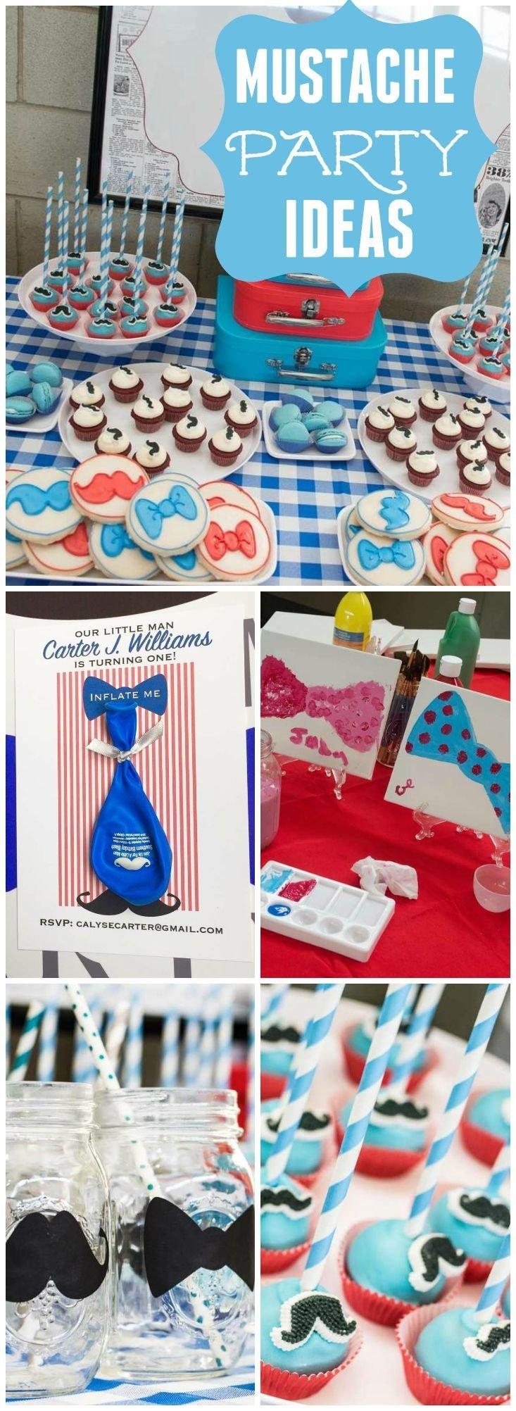 10 Famous Mustache Party Ideas For Kids 267 best mustache bash party ideas images on pinterest anniversary 1