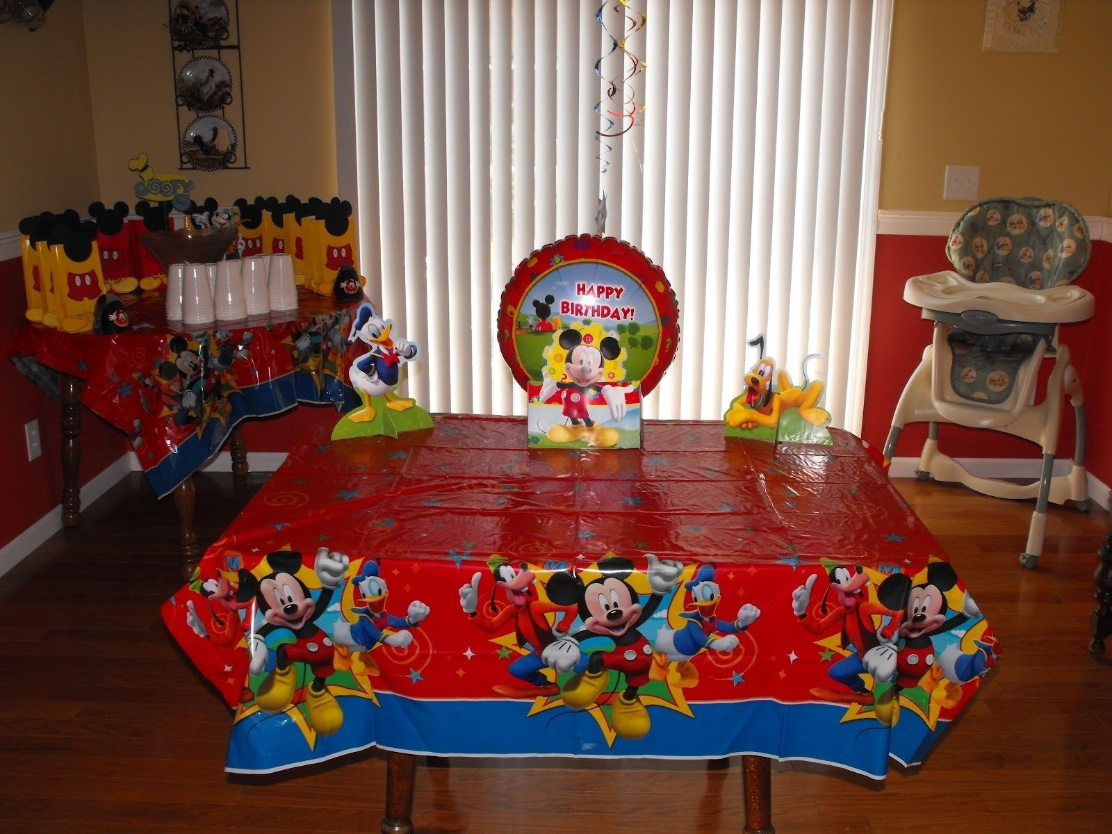 10 Beautiful Mickey Mouse Clubhouse Party Ideas 1St Birthday 27 awesome photograph over mickey mouse clubhouse party ideas 1st