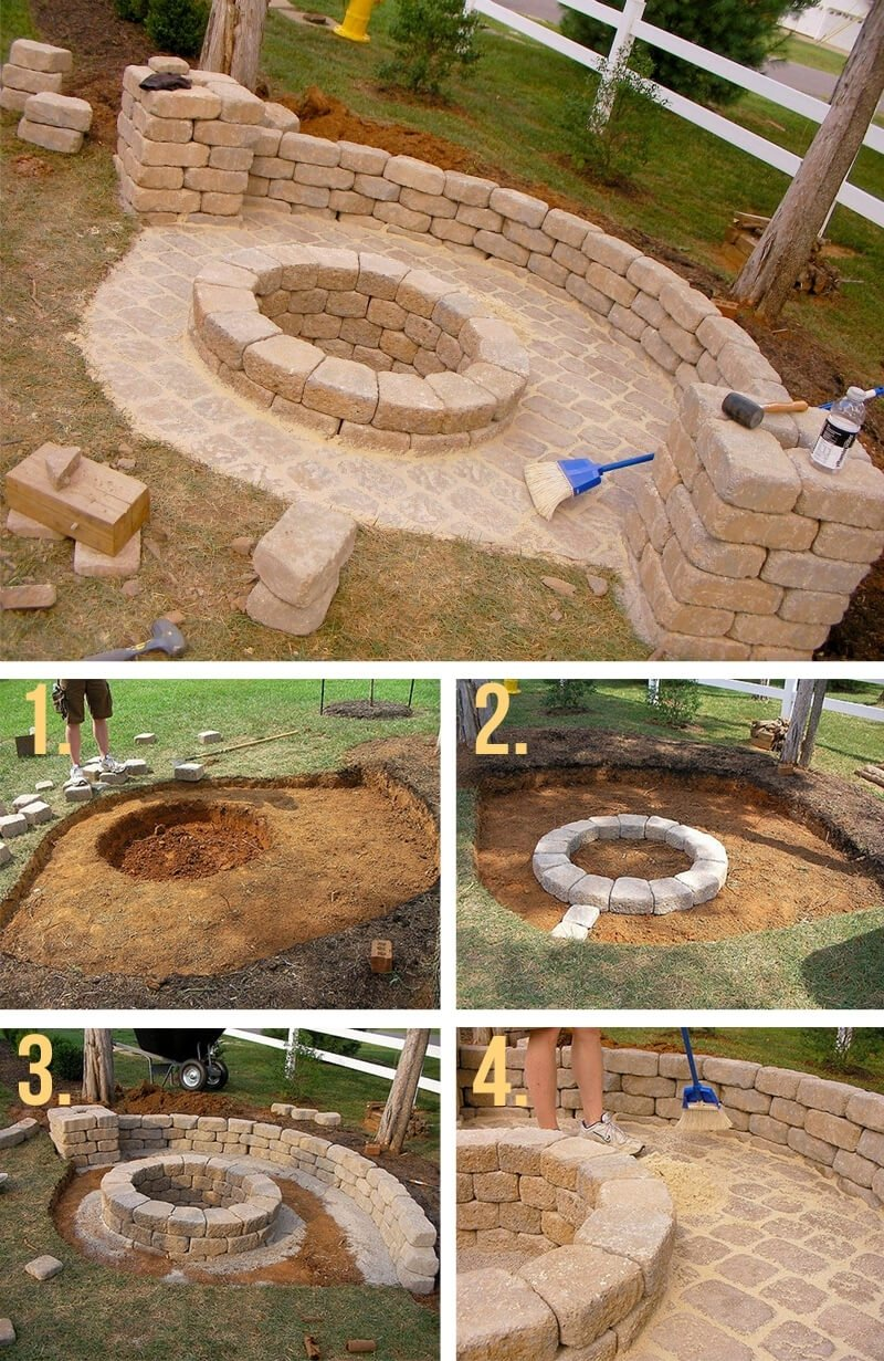 10 Spectacular Do It Yourself Fire Pit Ideas 27 best diy firepit ideas and designs for 2018 1 2021