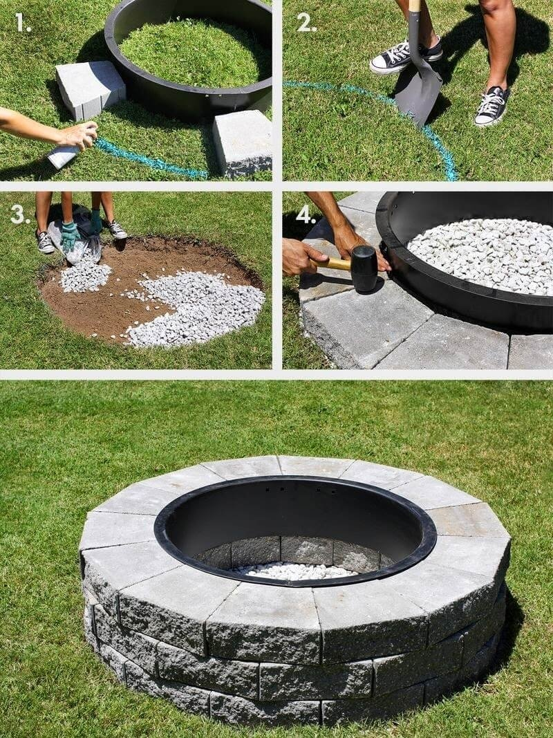 10 Spectacular Do It Yourself Fire Pit Ideas 27 best diy firepit ideas and designs for 2018 2 2021