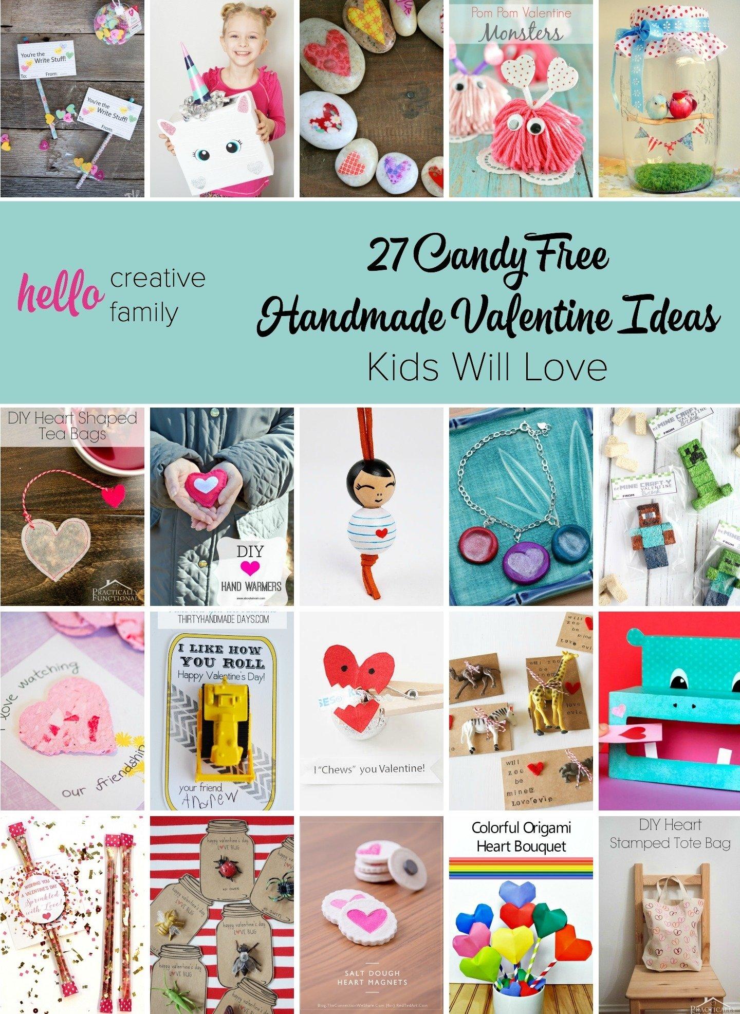 10 Ideal Valentine Gift Ideas For Kids 27 candy free handmade valentine ideas kids will love hello 2020