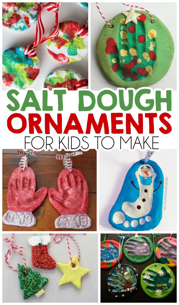 10 Best Christmas Craft Ideas On Pinterest 27 christmas salt dough ornaments for kids i heart arts n crafts 2020