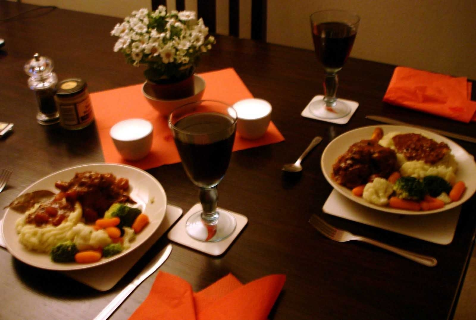 27 collection of romantic dinner ideas for two at home ideas