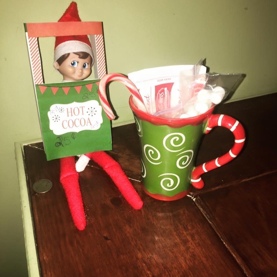 10 Stunning Elf On The Shelf Creative Ideas 27 creative unique elf ideas honeysuckle footprints 2020