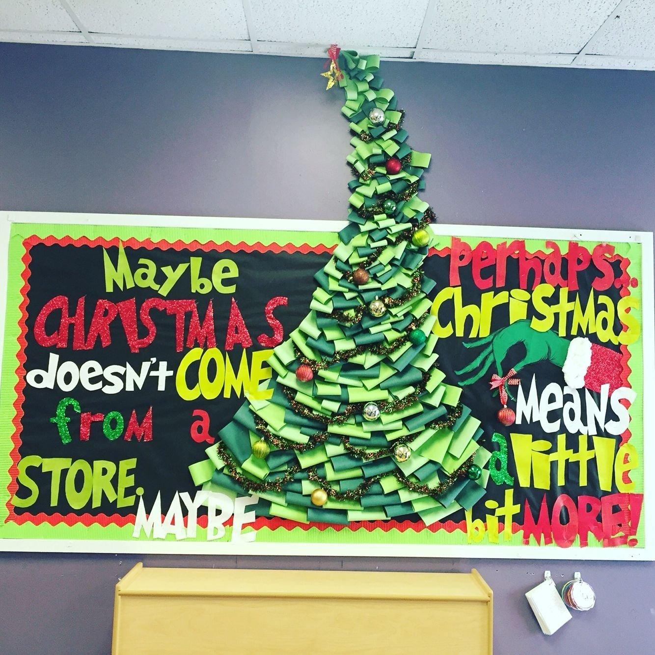 10 Attractive Christmas Tree Bulletin Board Ideas 27 diy cool cork board ideas instalation photos christmas 2021