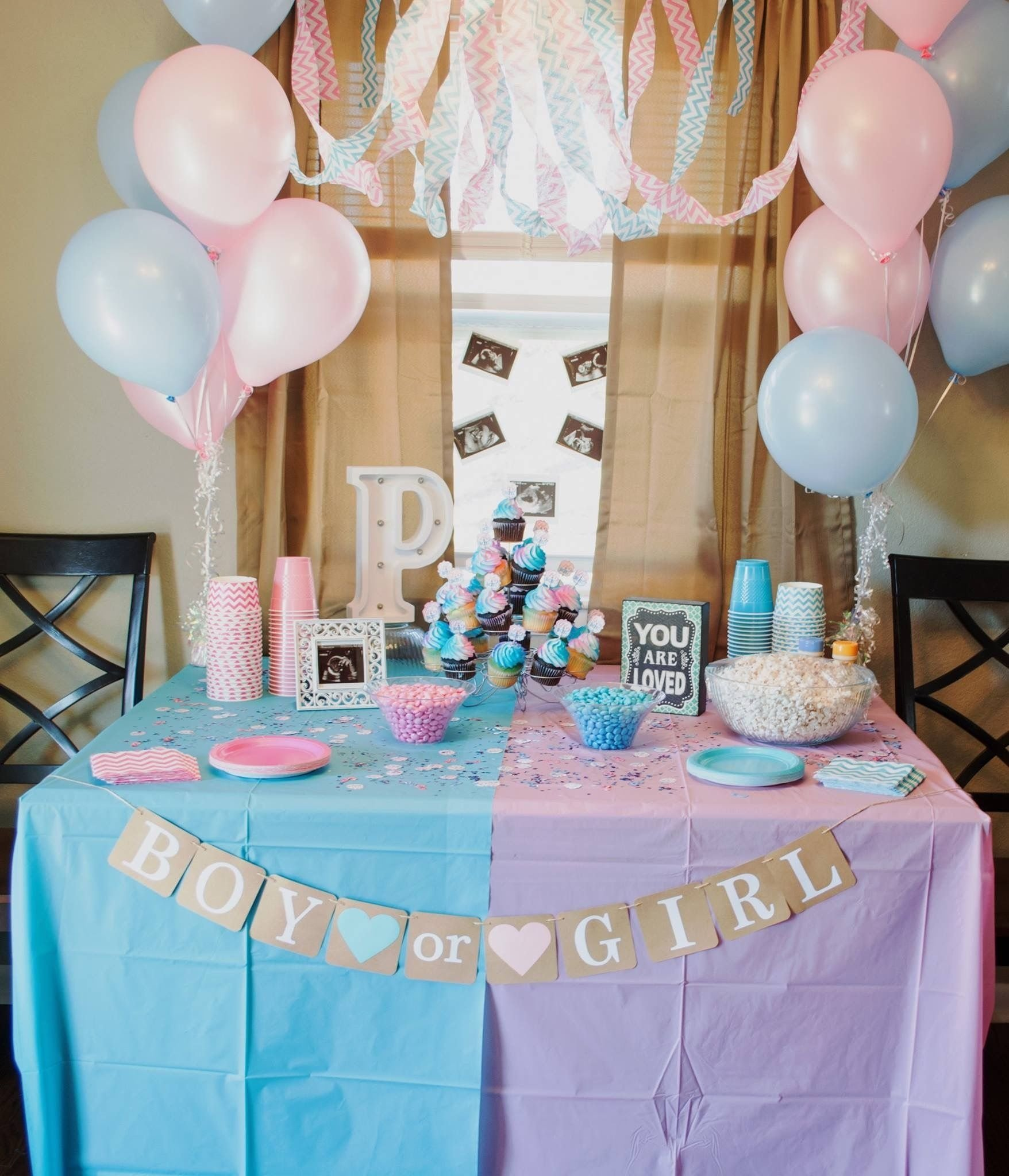 10 Ideal Gender Reveal Party Decoration Ideas 27 gender reveal party food ideas while pregnant gender reveal 3 2020