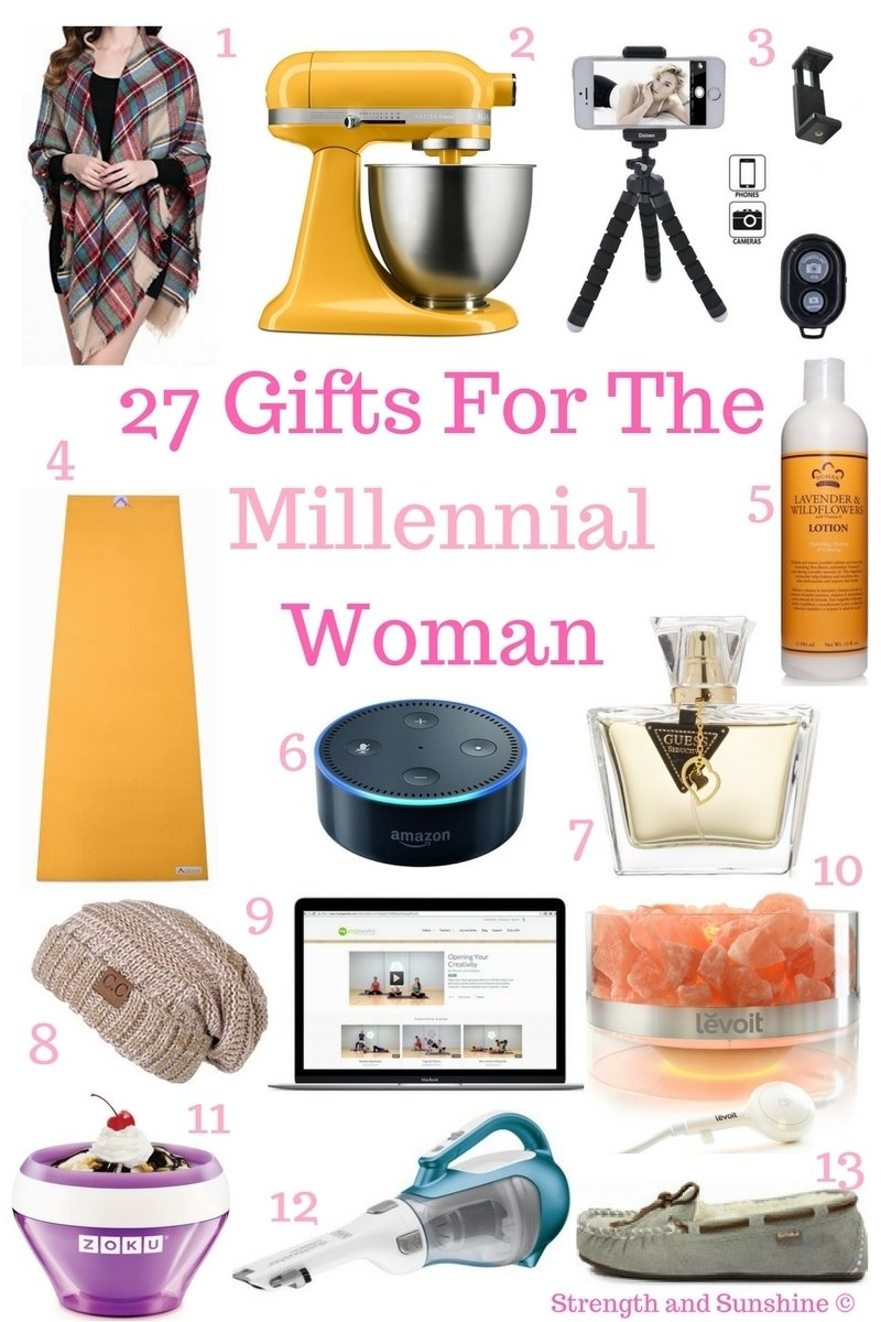10 Awesome Gift Ideas For Twenty Somethings 27 gifts for the millennial woman 1 2020