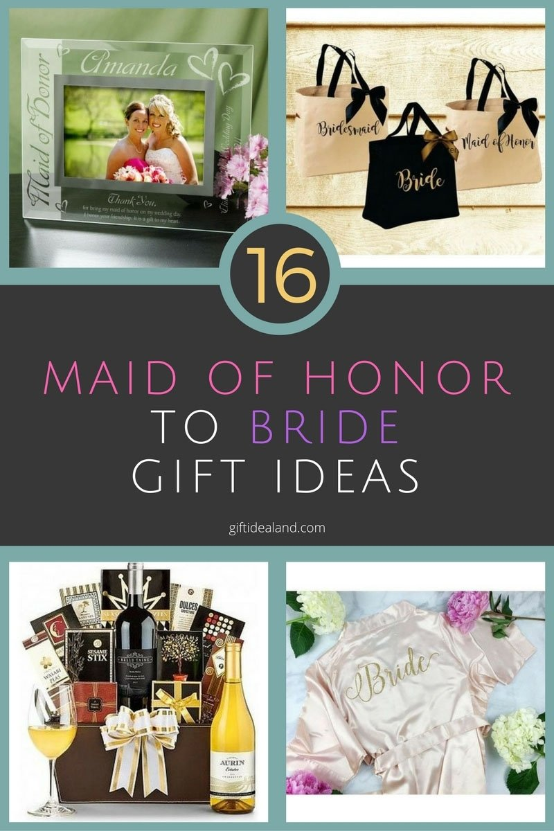 10 Elegant Gift Ideas For Maid Of Honor 27 great maid of honor gift to bride ideas 3 2020
