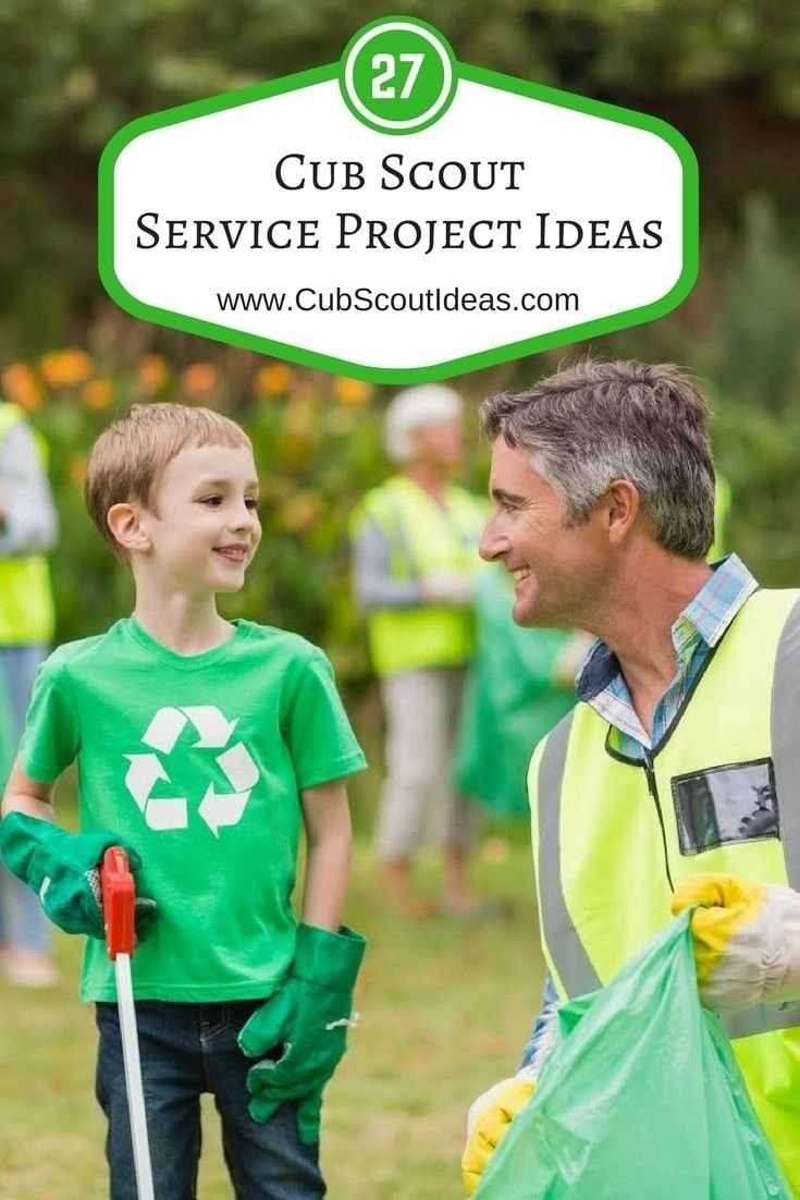 10 Cute Eagle Scout Service Project Ideas 27 of the most helpful cub scout service project ideas service 2021