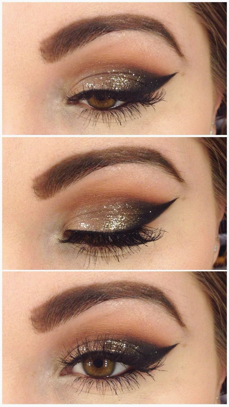10 Unique Eyeliner Ideas For Brown Eyes 27 pretty makeup tutorials for brown eyes rock makeup makeup 2 2020