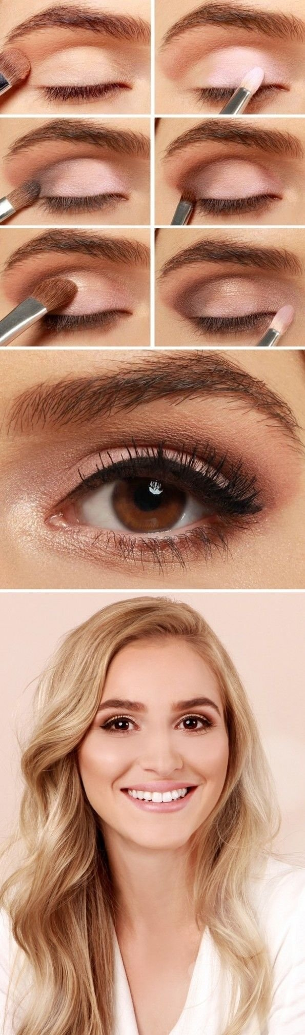 10 Awesome Cute Makeup Ideas For Brown Eyes 27 pretty makeup tutorials for brown eyes styles weekly 5 2020