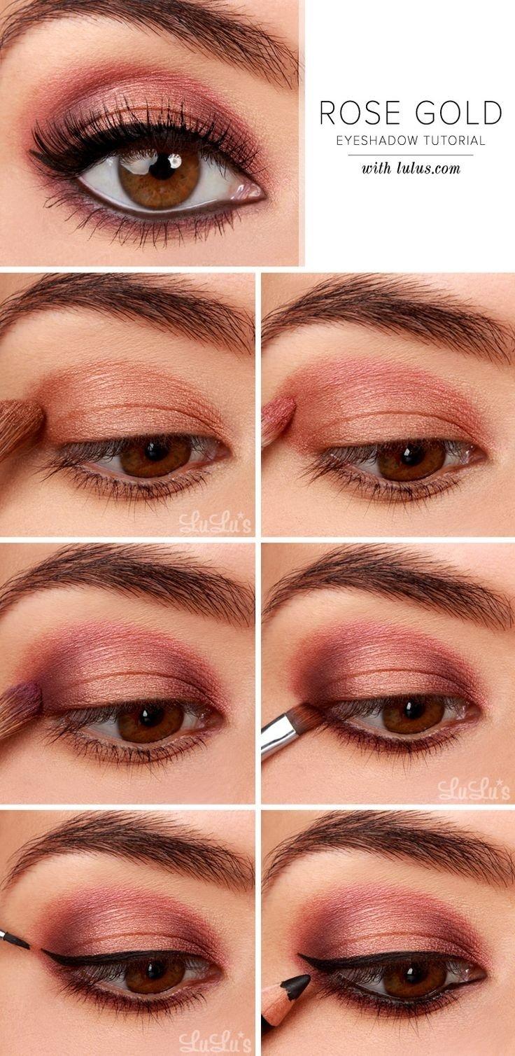 10 Best Eye Makeup Ideas Brown Eyes 27 pretty makeup tutorials for brown eyes styles weekly 6