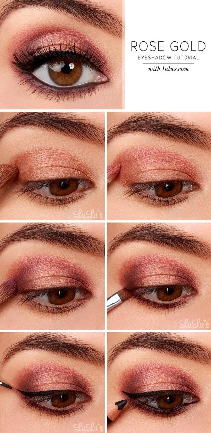 10 Unique Eyeliner Ideas For Brown Eyes 27 pretty makeup tutorials for brown eyes styles weekly 9 2020