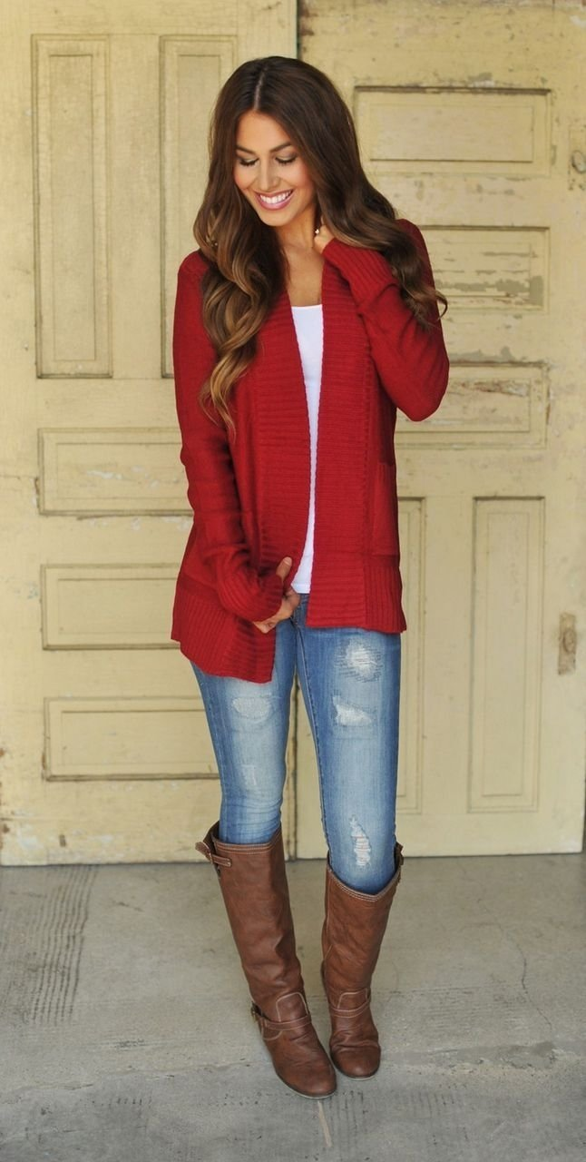 10 Famous Christmas Outfits For Women Ideas 27 red outfits will dominate your christmas outfit ideas hq 2021